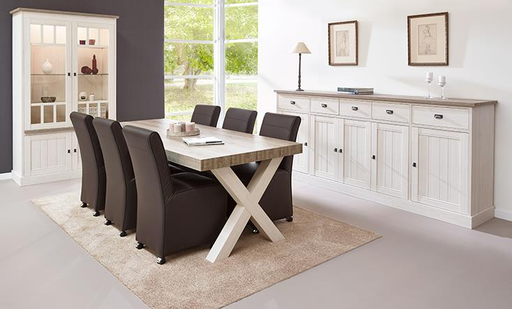 Salle a manger york mobilier confort for Table salle a manger york