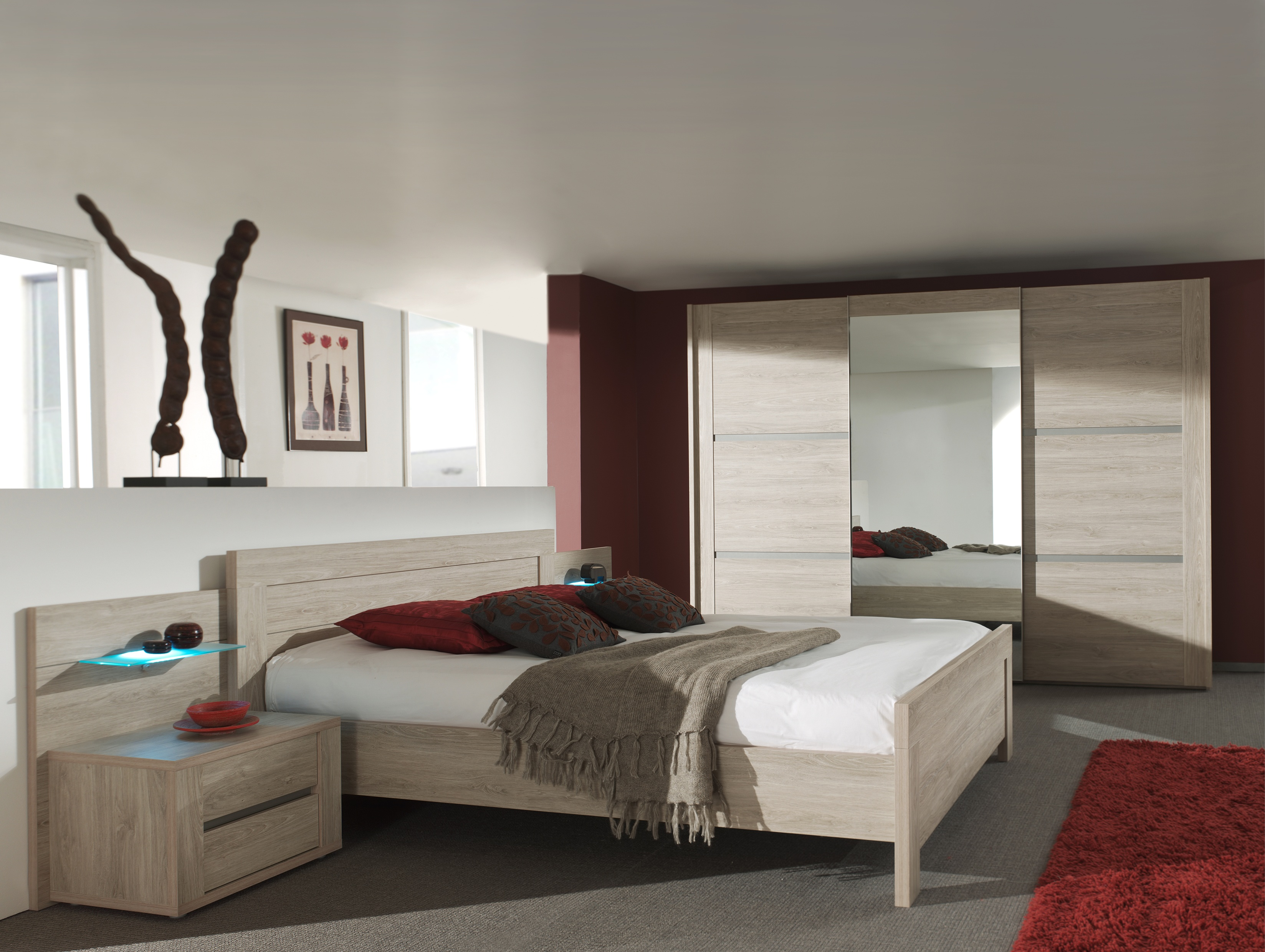 Chambre rocca mobilier confort for Chambre mobilier