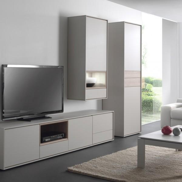 Meuble tv kyara mobilier confort for Meuble xooon