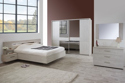chambre joyce mobilier confort. Black Bedroom Furniture Sets. Home Design Ideas