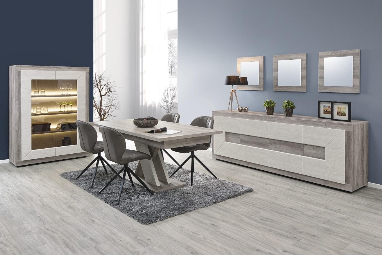 Salle a manger miguel mobilier confort - Monsieur meuble table salle a manger ...